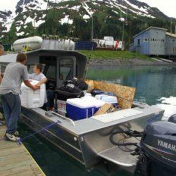 Whittier - Hafen / load the ocean racer -fun-